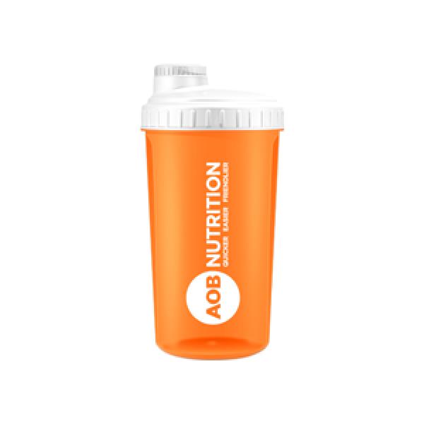 AOB Nutrition Neon Shaker - Orange