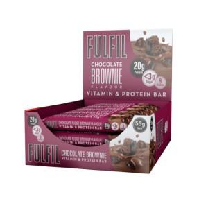 Fulfil Bars Chocolate Brownie 15x 55g
