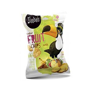 Jimbos Crunchy Fruit Chips 25g