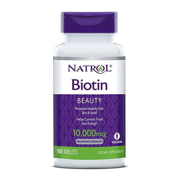 Natrol Max-Strength Biotin x100