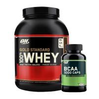 Whey & BCAA Stack