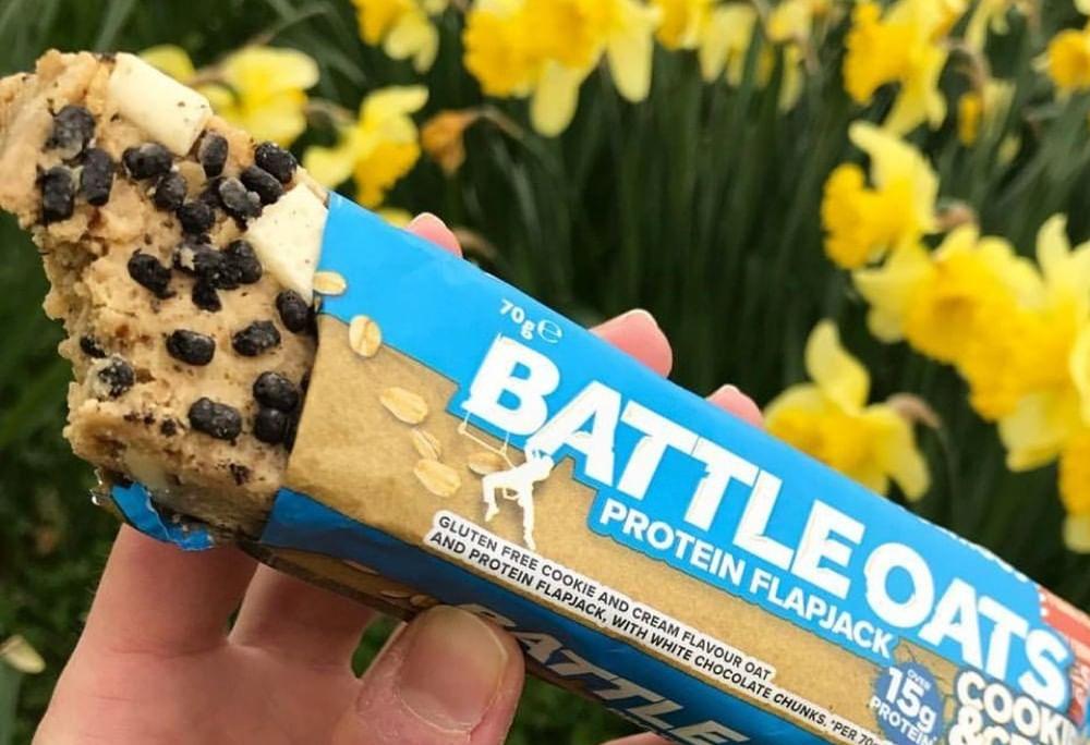 Battle Oats Protein Flapjacks