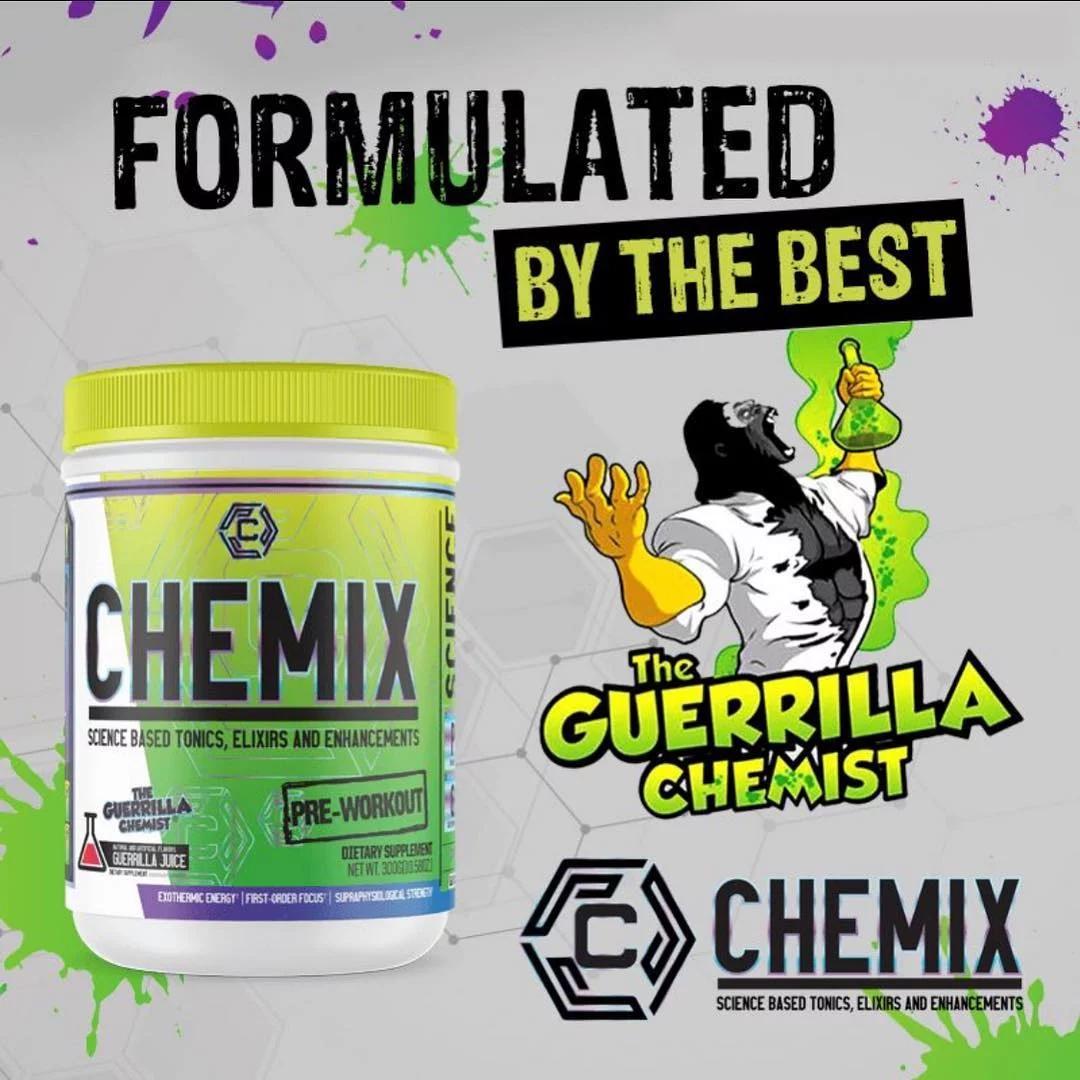 Chemix Pre-Workout by the Guerilla Chemist
